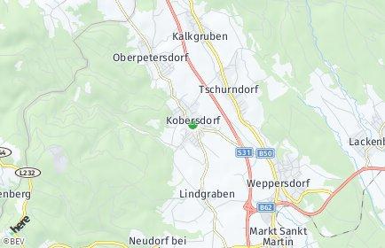 Stadtplan Kobersdorf