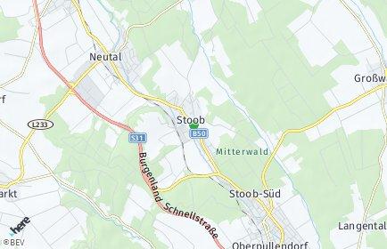 Stadtplan Stoob