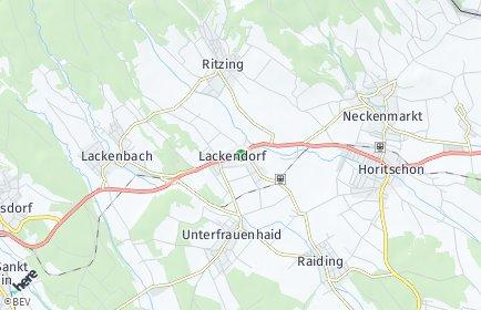 Stadtplan Lackendorf