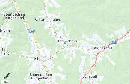 Stadtplan Unterrabnitz-Schwendgraben