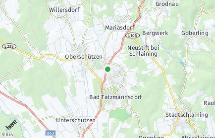 Stadtplan Bad Tatzmannsdorf