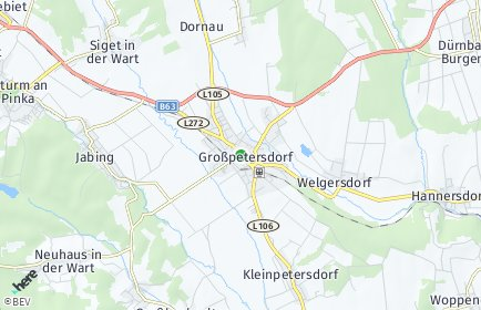 Stadtplan Großpetersdorf