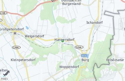 Stadtplan Hannersdorf