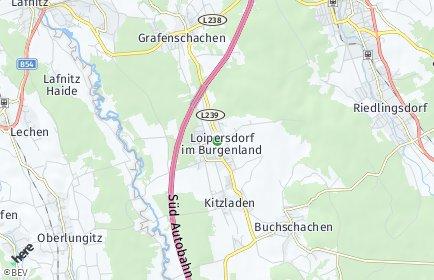 Stadtplan Loipersdorf-Kitzladen