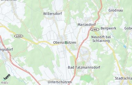 Stadtplan Oberschützen