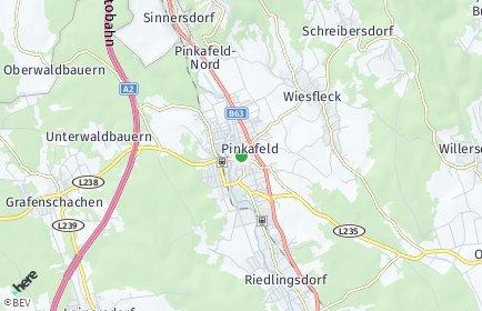 Stadtplan Pinkafeld