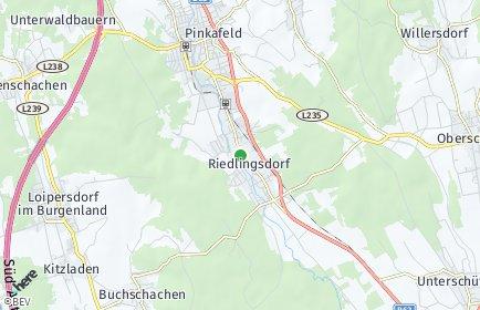Stadtplan Riedlingsdorf