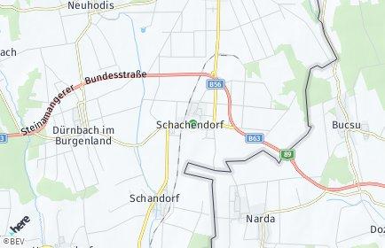 Stadtplan Schachendorf