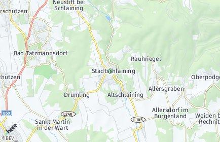 Stadtplan Stadtschlaining