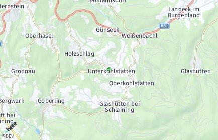 Stadtplan Unterkohlstätten