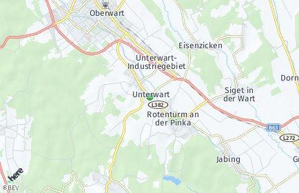 Stadtplan Unterwart