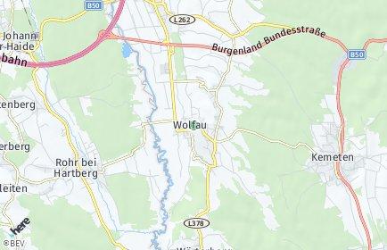 Stadtplan Wolfau