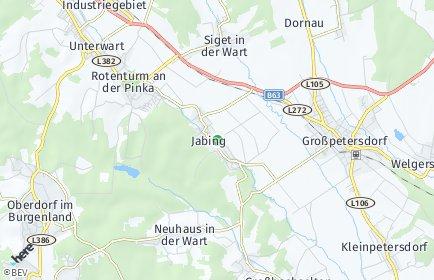 Stadtplan Jabing