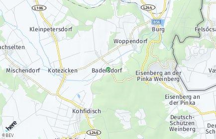 Stadtplan Badersdorf