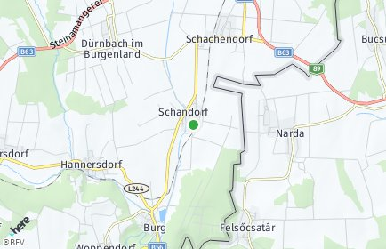 Stadtplan Schandorf