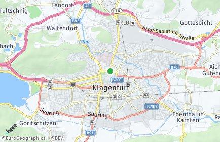 Stadtplan Klagenfurt Land