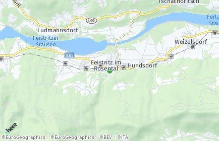 Stadtplan Feistritz im Rosental