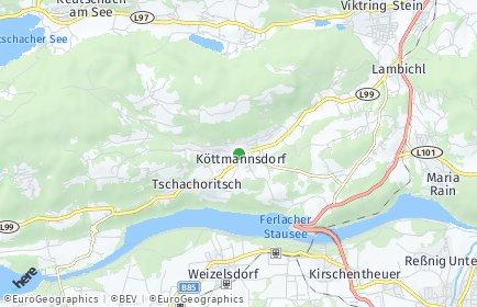 Stadtplan Köttmannsdorf