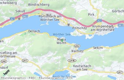 Stadtplan Maria Wörth