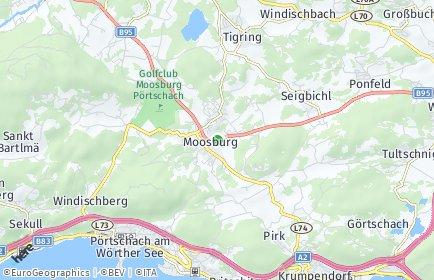 Stadtplan Moosburg