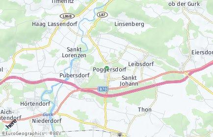 Stadtplan Poggersdorf