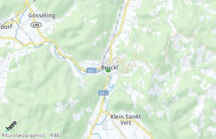Stadtplan Brückl