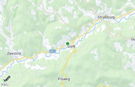 Stadtplan Gurk OT Gwadnitz