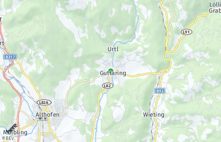 Stadtplan Guttaring OT Waitschach
