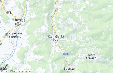 Stadtplan Klein Sankt Paul