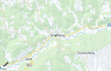 Stadtplan Straßburg OT Pabenberg