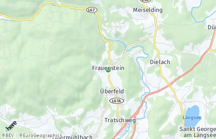 Stadtplan Frauenstein