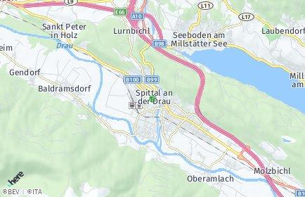 Stadtplan Spittal an der Drau