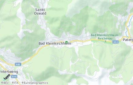 Stadtplan Bad Kleinkirchheim