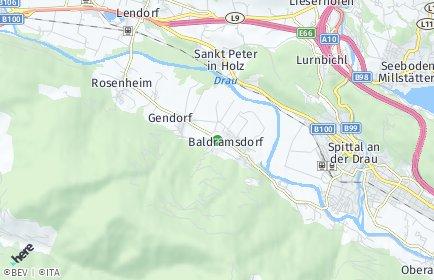 Stadtplan Baldramsdorf