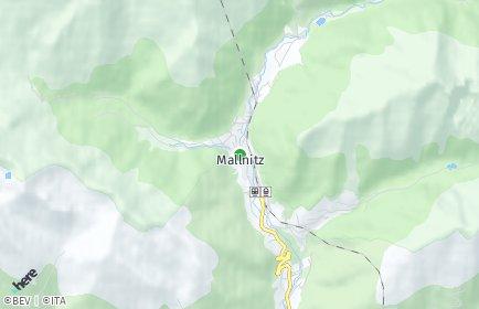 Stadtplan Mallnitz
