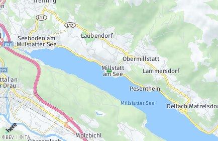 Stadtplan Millstatt