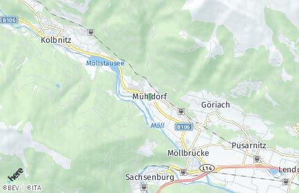 Stadtplan Mühldorf (Kärnten)
