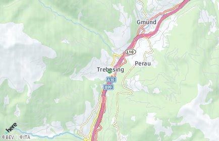 Stadtplan Trebesing OT Oberallach