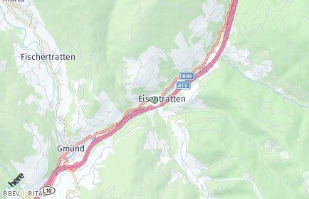 Stadtplan Krems in Kärnten