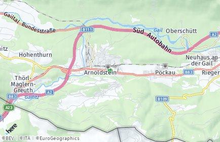 Stadtplan Arnoldstein