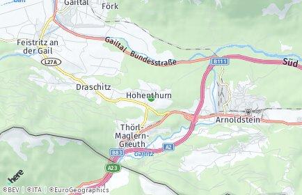 Stadtplan Hohenthurn