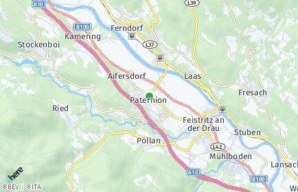 Stadtplan Paternion OT Patendorf