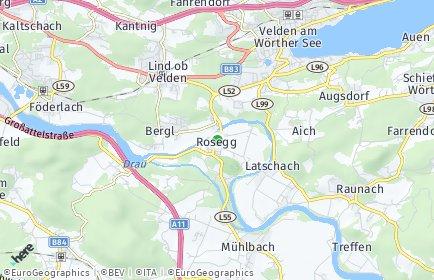 Stadtplan Rosegg