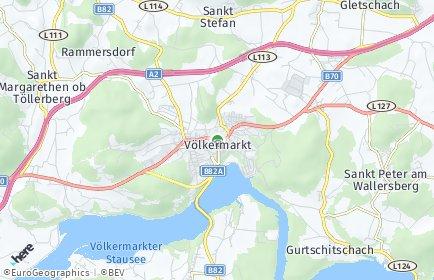Stadtplan Völkermarkt