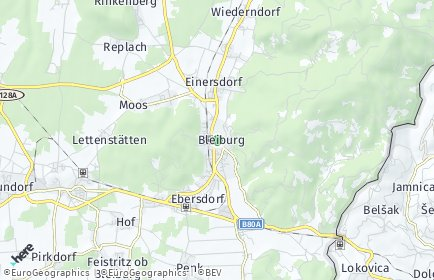 Stadtplan Bleiburg