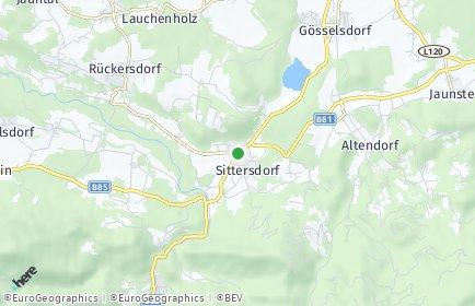 Stadtplan Sittersdorf