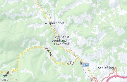 Stadtplan Bad Sankt Leonhard im Lavanttal