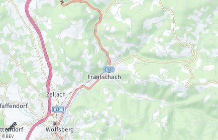Stadtplan Frantschach-Sankt Gertraud