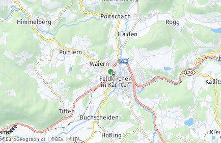 Stadtplan Feldkirchen