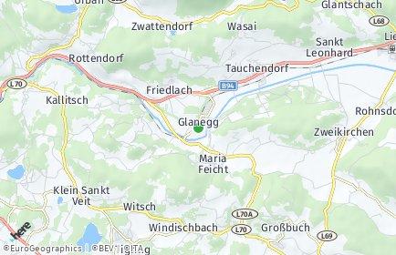 Stadtplan Glanegg